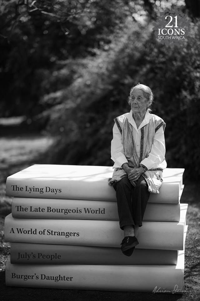"""""""My name is Nadine Gordimer and I am a South African. That is my identity."""" 21 Icons - Nadine Gordimer - Novelist"""