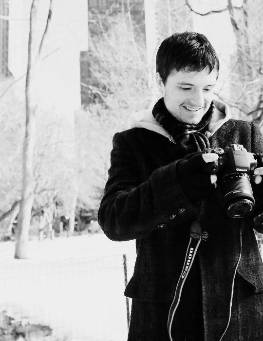 """""""Josh Hutcherson in New York for Canons Project Imagination """""""