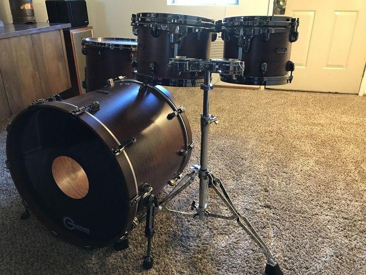 Tama Starclassic Bubinga 4 Piece Shell Pack Drum Set Natural Satin