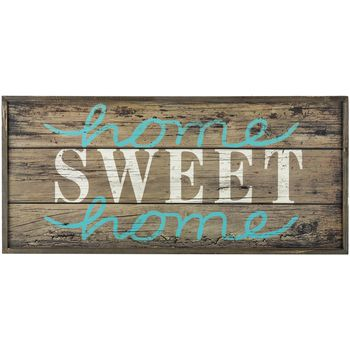 Home Sweet Home Wood Pallet MDF Sign Hobby Lobby 12x26