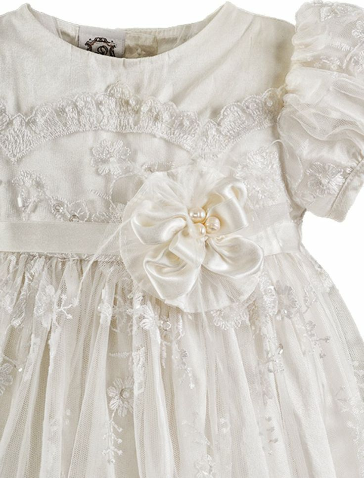 7 Best Girls Cotton Christening Gown Images On Pinterest