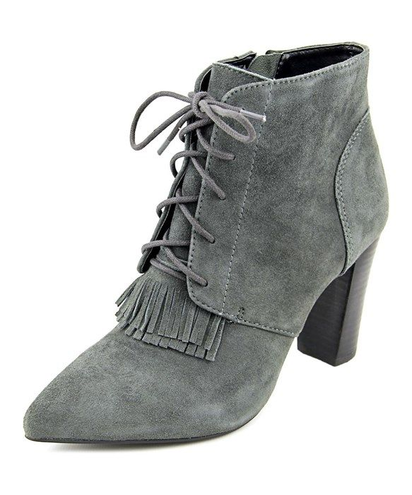 Tahari Augusta Women  Pointed Toe Suede  Ankle Boot