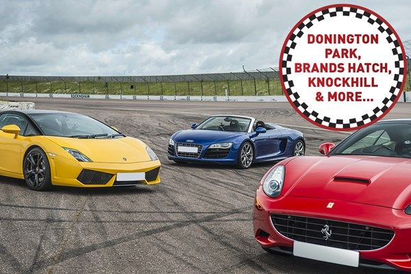 Triple Supercar Driving Blast At A Top Uk Race Track Super Cars Race Track Racing