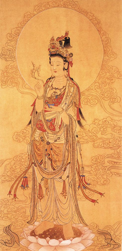 China Painting | Wisdom of The East | Pinterest | Guanyin ...