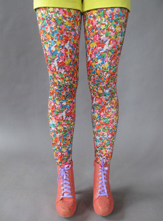 Sprinkle Print Leggings | 26 Things On Etsy You Need To Buy Right Now