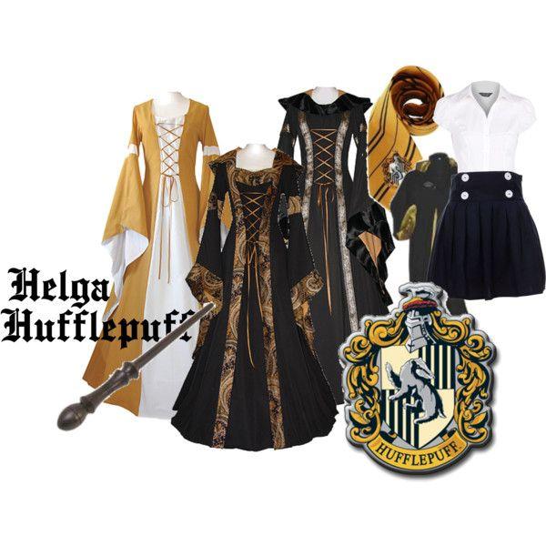 Helga Hufflepuff, created by lemarslievre on Polyvore