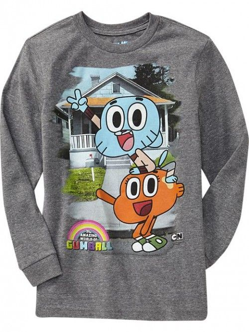 Old Navy The Amazing World of Gumball Shirt
