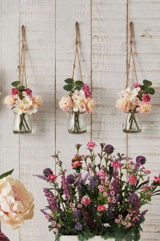 Does it get any prettier than our mini artificial blossom jars? Whether you're looking for wedding decor accessories, or something to freshen up your own interior, these are are simple and easy (yet gorgeous) quick fix - and perfect for the spring season!
