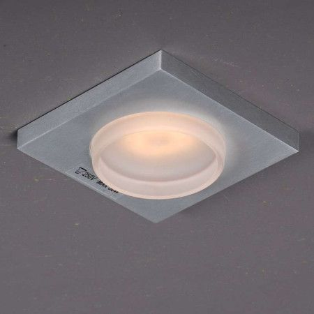 Cool Badezimmer Einbaustrahler Spa Glas viereckig Einbauleuchte Lampe Light einrichten Innenbeleuchtung