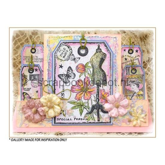 Crafty Individuals Rubber Stamps CI-427, Scrapbookdepot