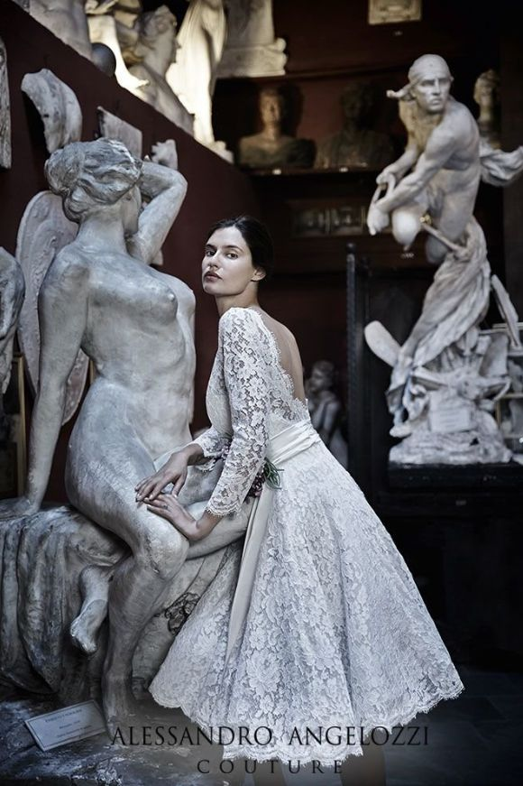 Suknie ślubne 2015 - Alessandro Angelozzi Couture, fot. mat. prasowe