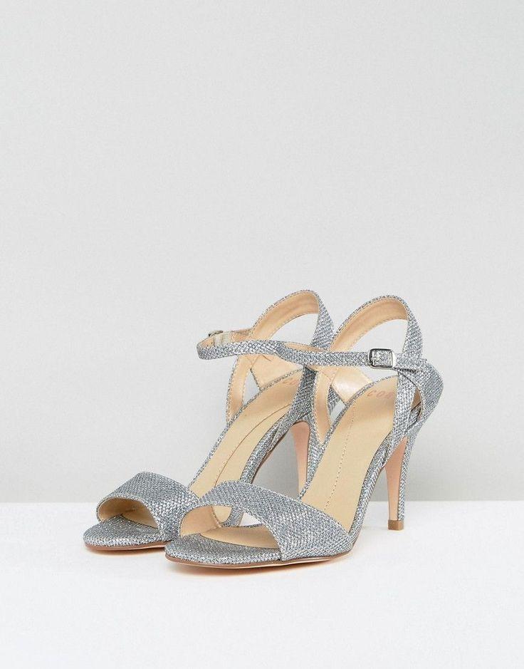 Coast Silver Glitter Shoe - Silver