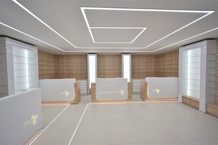 Concept Design and installation by Euroneon ,Modern  floor and ceiling Linear LED lighting
