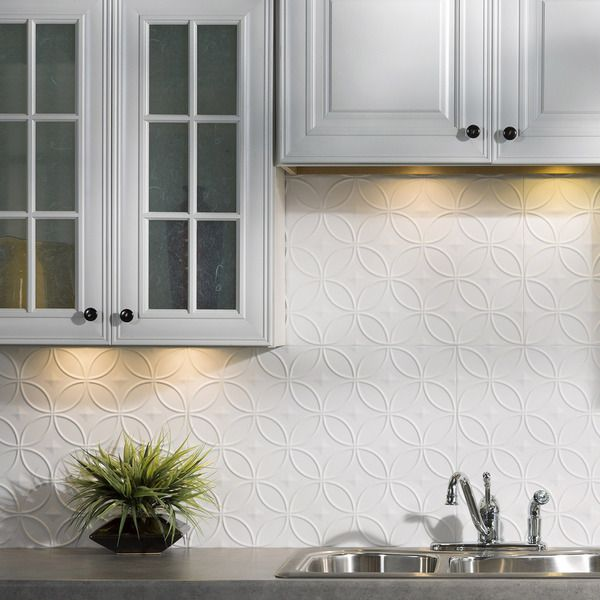 17 best ideas about backsplash panels on pinterest faux brick backsplash faux brick walls and - Kitchen backsplash panel ...