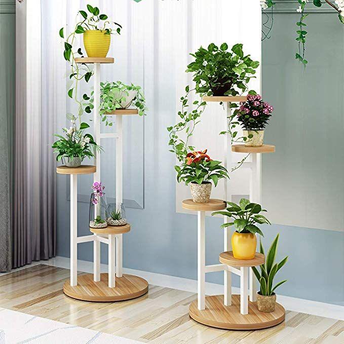 W Huajia Corner Plant Stand Corner Plant Stands Plant Stands