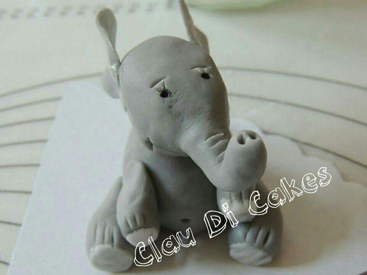 elephant fondant