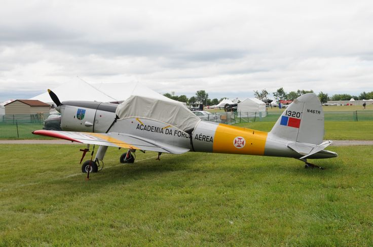 The DHC-1 Chipmunk trainer, here in Portuguese AF markings, was just postwar, but its designer had worked on the PZL-7 and PZL-11 fighters that equipped the Polish AF in 1939. Oshkosh, 2013 (photo: David Isby)