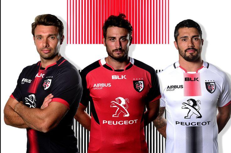 Les maillots officiels du Stade Toulousain pour la saison 2015-2016. En précommande dès le 25 juillet sur http://boutique.stadetoulousain.fr