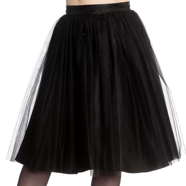 Hell Bunny Ballerina Skirt - Black