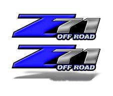 Z71  OFF ROAD DECAL STICKER Blue Chevy Silverado GMC Sierra Truck bed Mk005z71OR