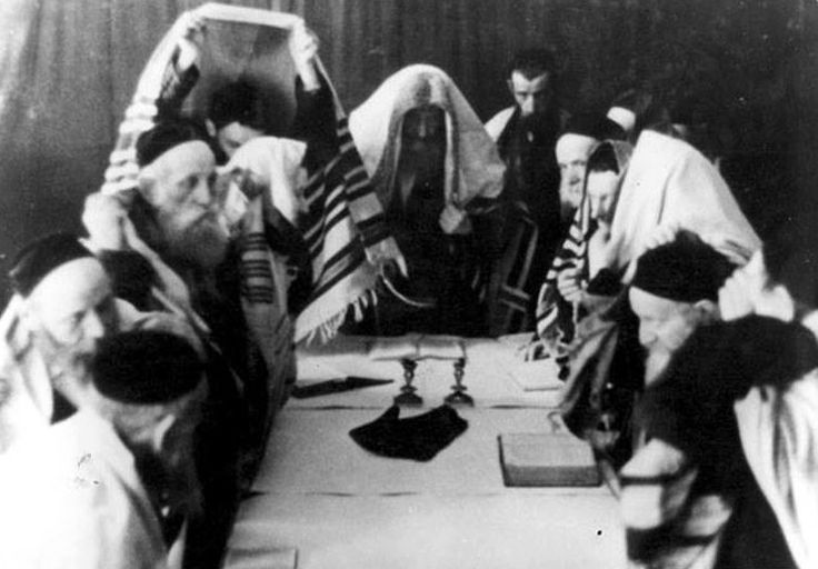 Yom Kippur in Nazi Poland  On October 11, 1940, Krakow's remaining Jews drew together to observe Yom Kippur. A photograph of that service keeps for posterity the dedication these individuals held, even against seemingly insurmountable challenges.