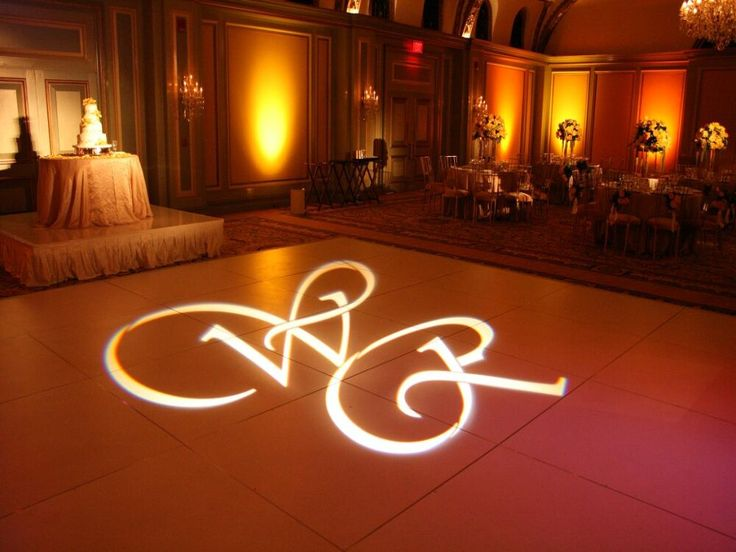 Dance floor with the couples initials in lights #jevel #jevelweddingplanning Follow Us: www.jevelweddingplanning.com www.facebook.com/jevelweddingplanning/ www.twitter.com/jevelwedding/ www.pinterest.com/jevelwedding/