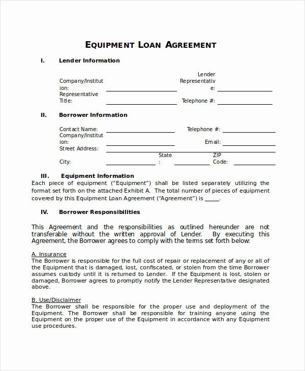 Borrowed Vehicle Agreement Template Unique 24 Of Loaner Agreement Template Contract Template Recipe Template For Word Templates