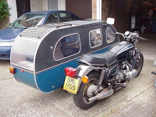 """SidecaR-V ¿Quien dijo """"Las motos no son para viajar con la famila?"""