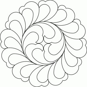 871 best lacyacre quilting motifs images on Pinterest | Free ... : feather quilting stencils - Adamdwight.com
