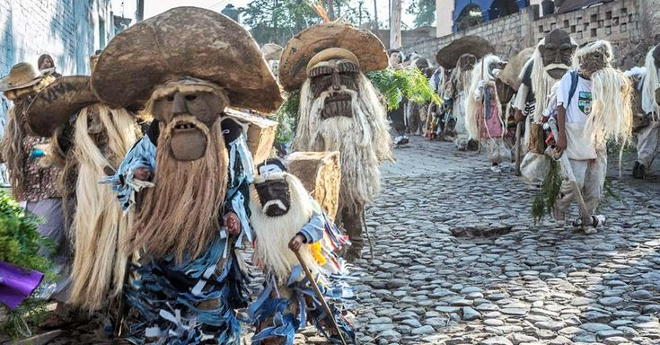 Xitas de Corpus / Viejos de Temascalcingo