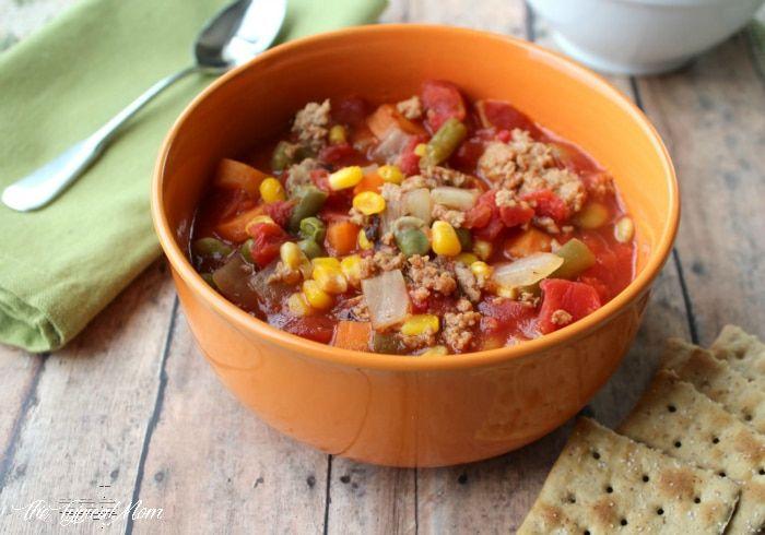 crockpot Ministrone soup