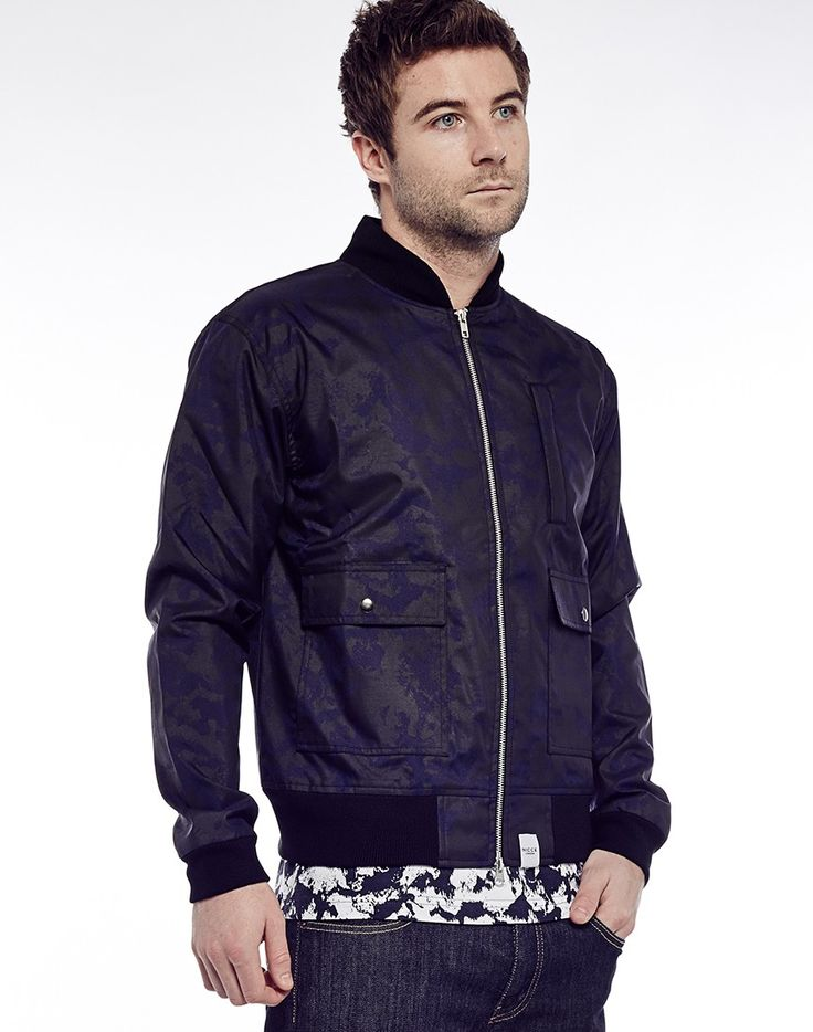 Nicce Ink Bomber | Shop Men's Clothing at The Idle Man