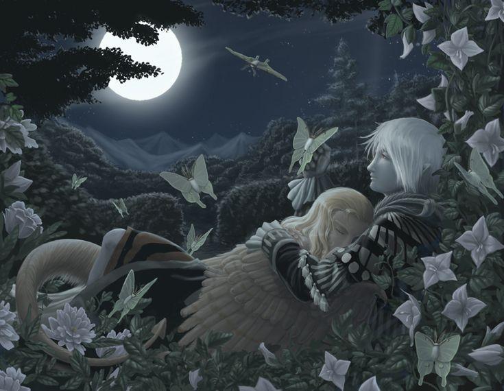 Wonderful Moonlight Garden