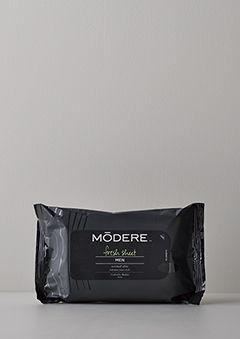 モデーア フレッシュシート メン | サッとふくだけで、シャワーをあびた後のような爽快感と、化粧水のようなうるおいを。【¥5,400以上のお買い物で10%OFF 、¥10,800以上で15%OFFの特典をプレゼント】
