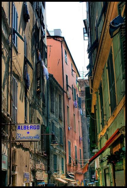 via di Prè, Genoa ,Italy