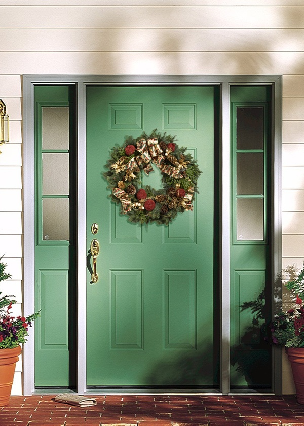 Bring holiday warmth to any exterior door. & 12 best JELD-WEN Windows \u0026 Doors images on Pinterest   Entrance ...