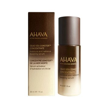 AHAVA Dead Sea Osmoter™ Concentrate - $61.95. A groundbreaking, skin-optimising serum that boosts hydration, clarity and luminosity and supercharges skin's cellular functions to counteract the signs of aging immediately and over time.