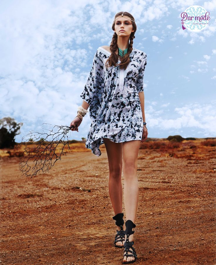 Tunic Skyros・Out of Africa lookbook