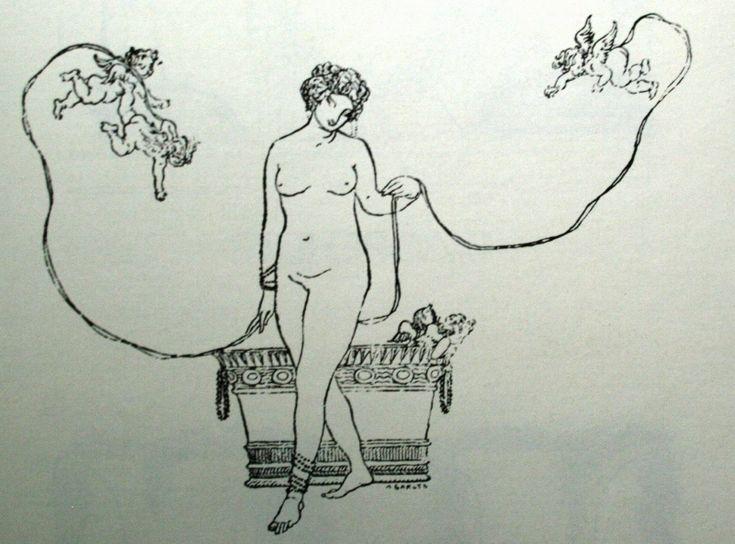 http://cultobzor.ru/2013/07/bakst-gallery/bakst1-36/ Бакст Лев «Концовка к статье В.В.Розанова «Пестум» для журнала «Мир искусства» 1902 г.