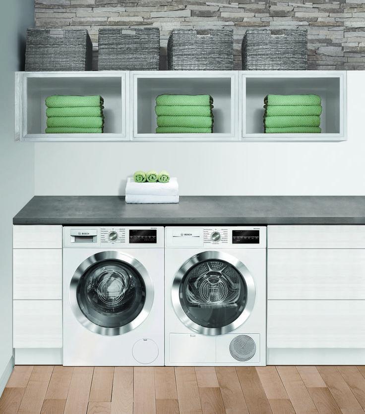 "Bosch 24"" laundry room"