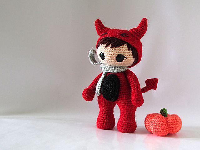 Ravelry: The Little Red Devil pattern by Serah Basnet