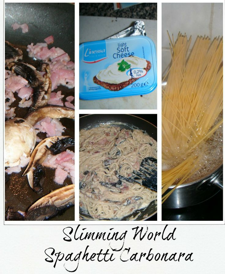 A matter of choice: Slimming World Carbonara & Weigh in