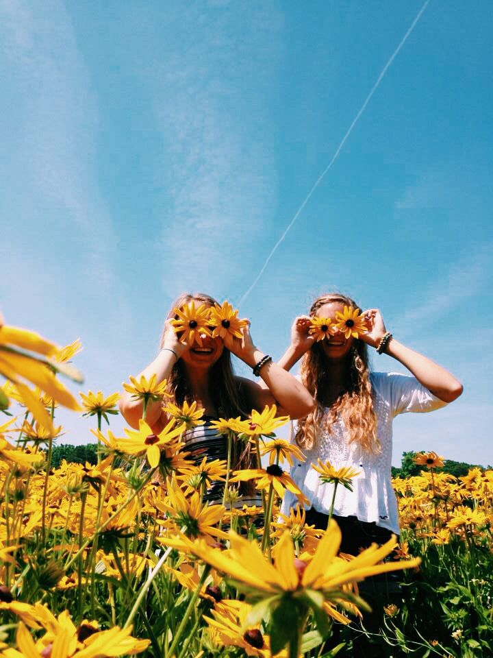 friends // summer // photography // flowers