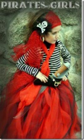 Disfraz casero de pirata para niña, sin coser   disfraces fáciles (shared via SlingPic)