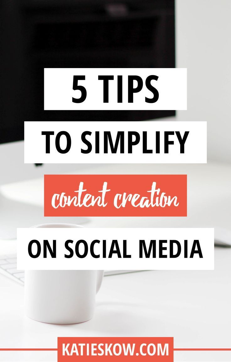 Creating consistent, successful social media content that converts doesn't have to be difficult or take over your life. It's about knowing your goals and setting up systems that work for you, so you can rinse and repeat.  Here are 5 tips for social media content simplicity.