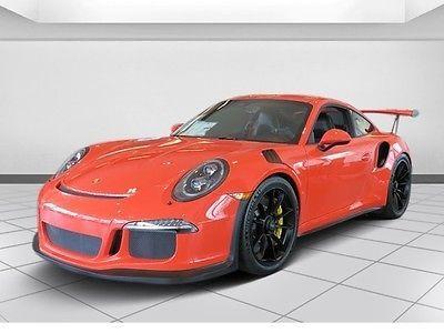 2016 Porsche 911 GT3 RS Porsche 911 Lava Orange with 480 Miles, for sale!