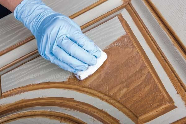 Tips for staining and painting fiberglass entry doors. | thisoldhouse.com