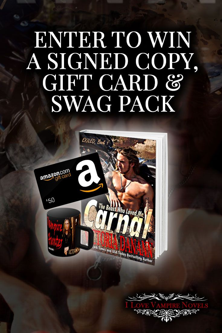Win a $50 Amazon Gift Card, Signed Paperback & Swag from NY Times Bestselling Author Victoria Danann