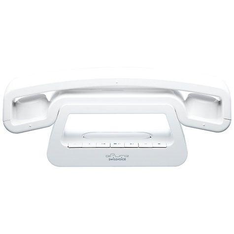 Swissvoice ePure Digital Phone with Answering Machine, White Online at johnlewis.com