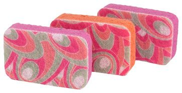 Casabella It's Not Your mothers Sponges Pink Patterns - Squee!